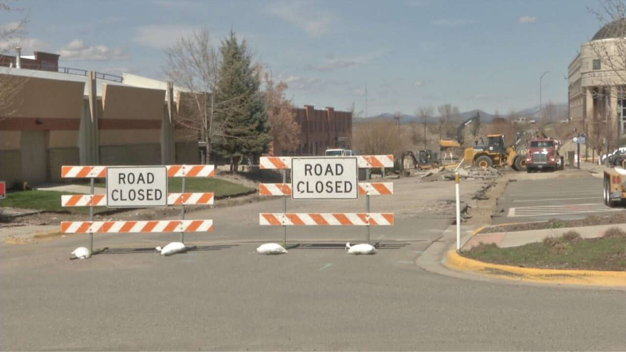 First phase of Front Street construction complete