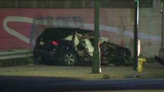 Newark, New Jersey crash on Oct. 1, 2020