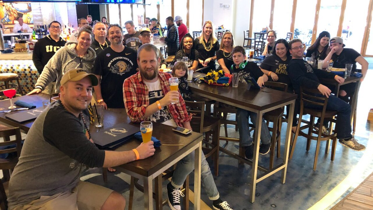 Knight vision: UCF alumni club hosts bowl watch party, supports localplayers