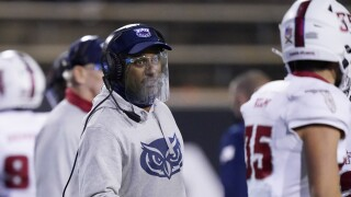 FAU Owls head coach Willie Taggart in December 2020