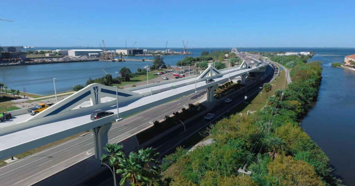 Selmon Expressway west extension opening next Monday