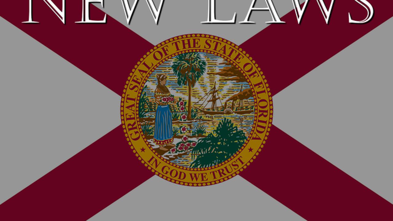 Florida governor signs 30 bills into law