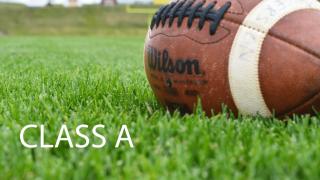 2018 Class A football standings