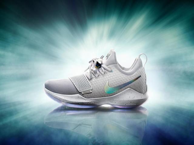 2db782a0a4b4 PHOTOS  Paul George debuts signature Nike shoe