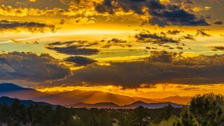 Westcliffe Steve Shugart sunset