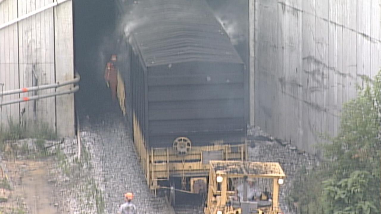 Howard Street Tunnel Fire 2001