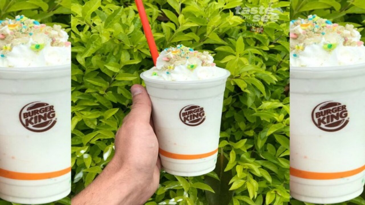 Burger King whips up magically delicious 'Lucky Charms Shake'