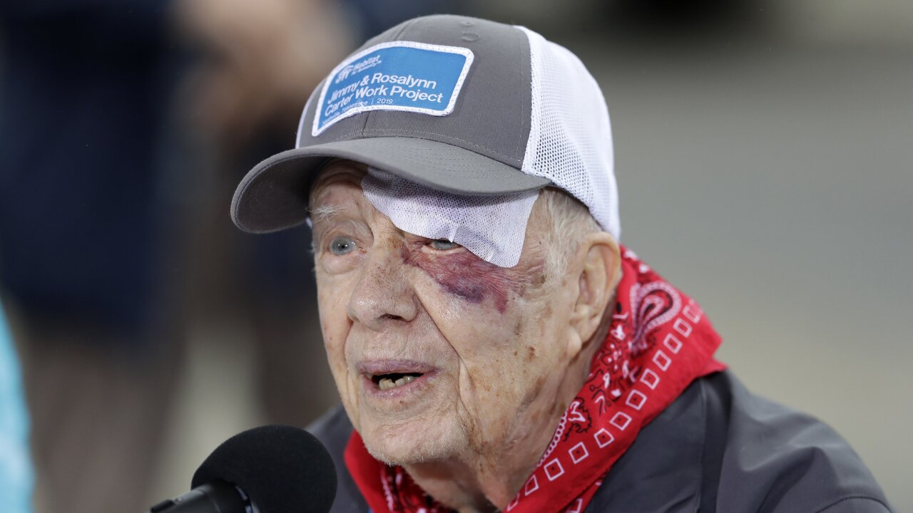 President Carter released from hospital after treatment
