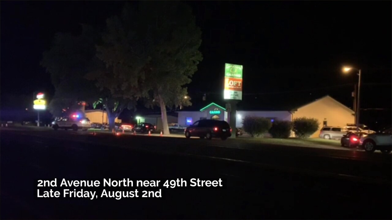 A man crossing a street in Great Falls on Friday died after being hit by a vehicle