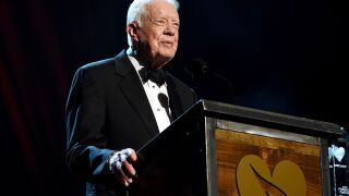 President Jimmy Carter released from the hospital