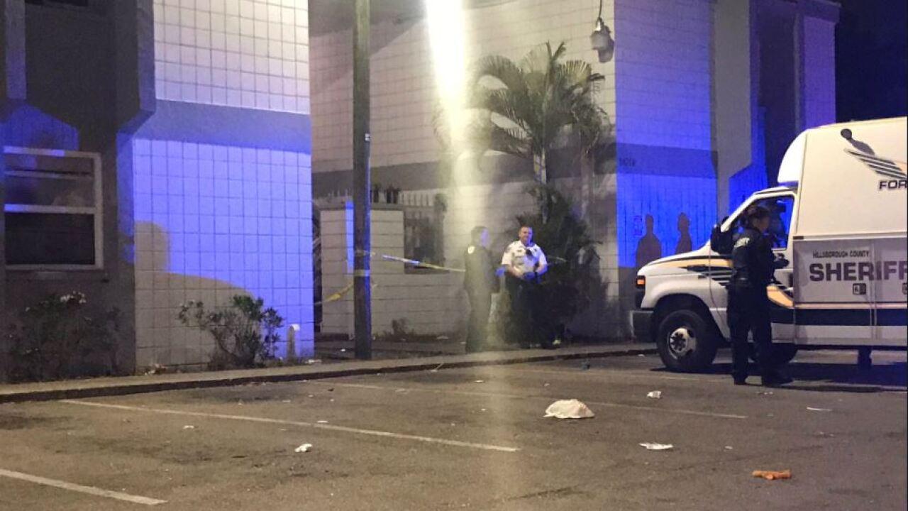 Death investigation at apartment complex