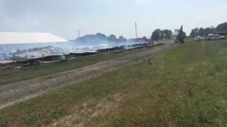 Wayne County chicken farm fire