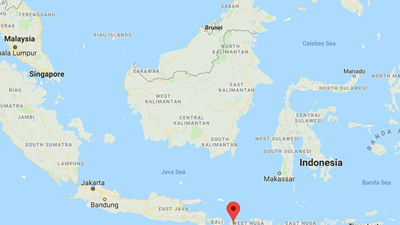 Quake hits Indonesia's Lombok island; tsunami possible