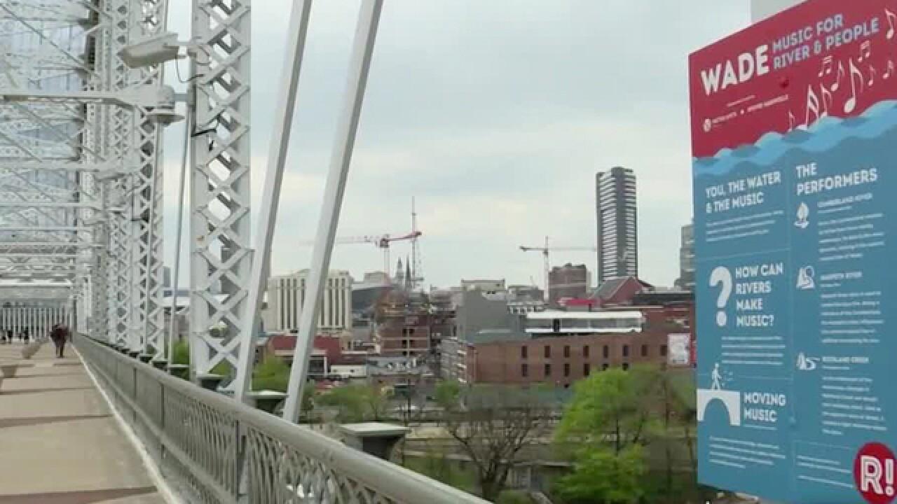 'Sound Artist' Creates Interactive Music Installation On Nashville's Pedestrian Bridge
