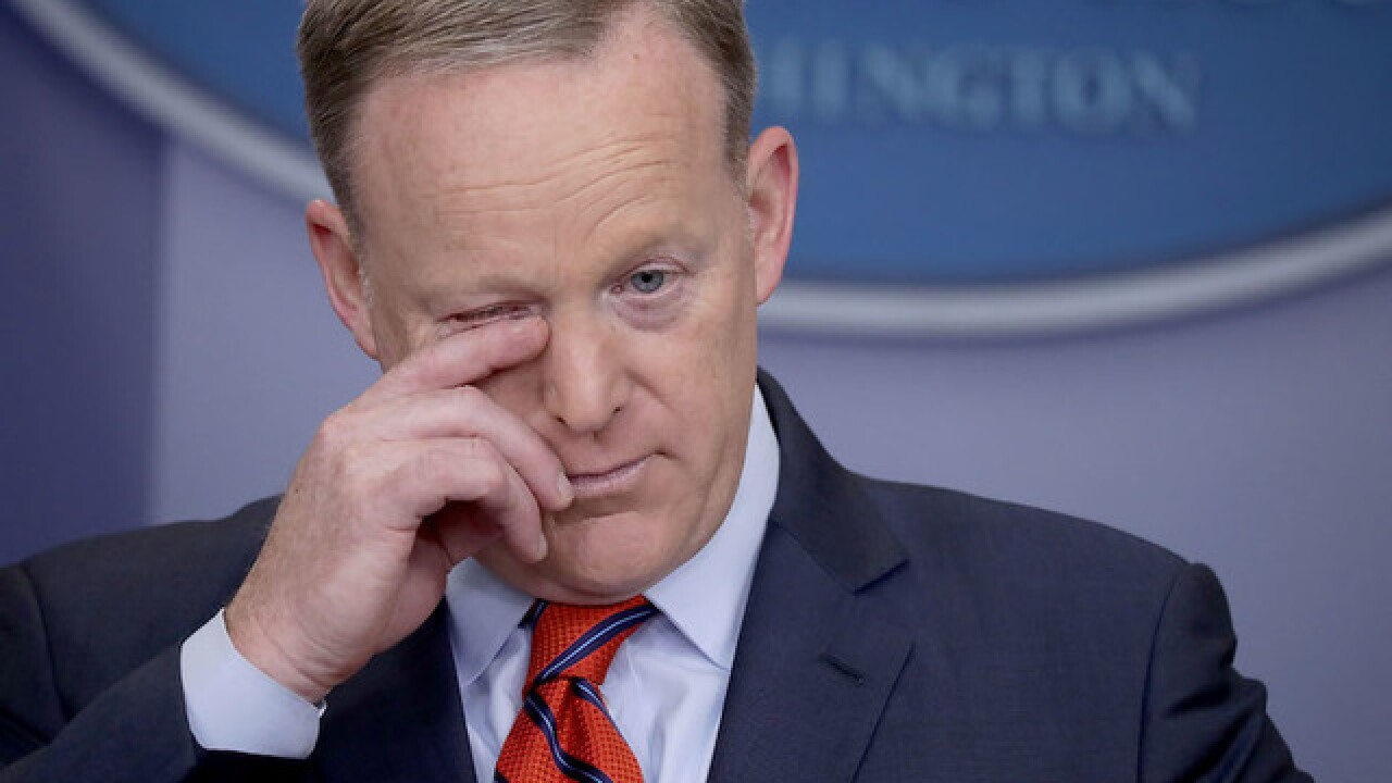 Justice Department special counsel team interviews Sean Spicer on Russia investigation