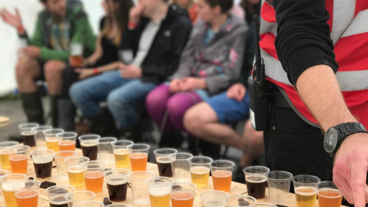 File image of a beer festival