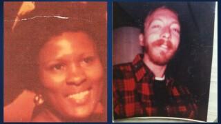 "Doris Regina Chavers (left) and Howard ""Kip"" Evans (right)"