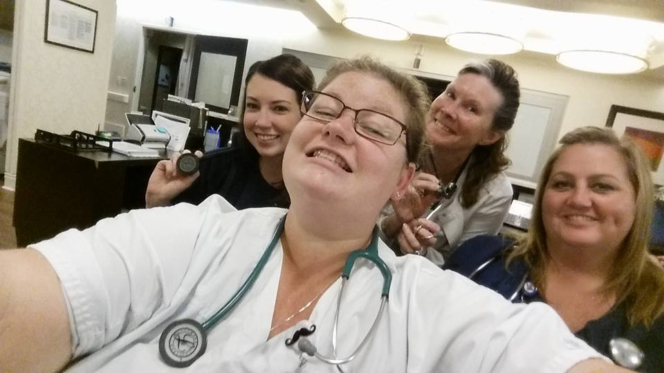 Photos: 'Show me your stethoscope,' nurse Facebook group responds to 'The View'