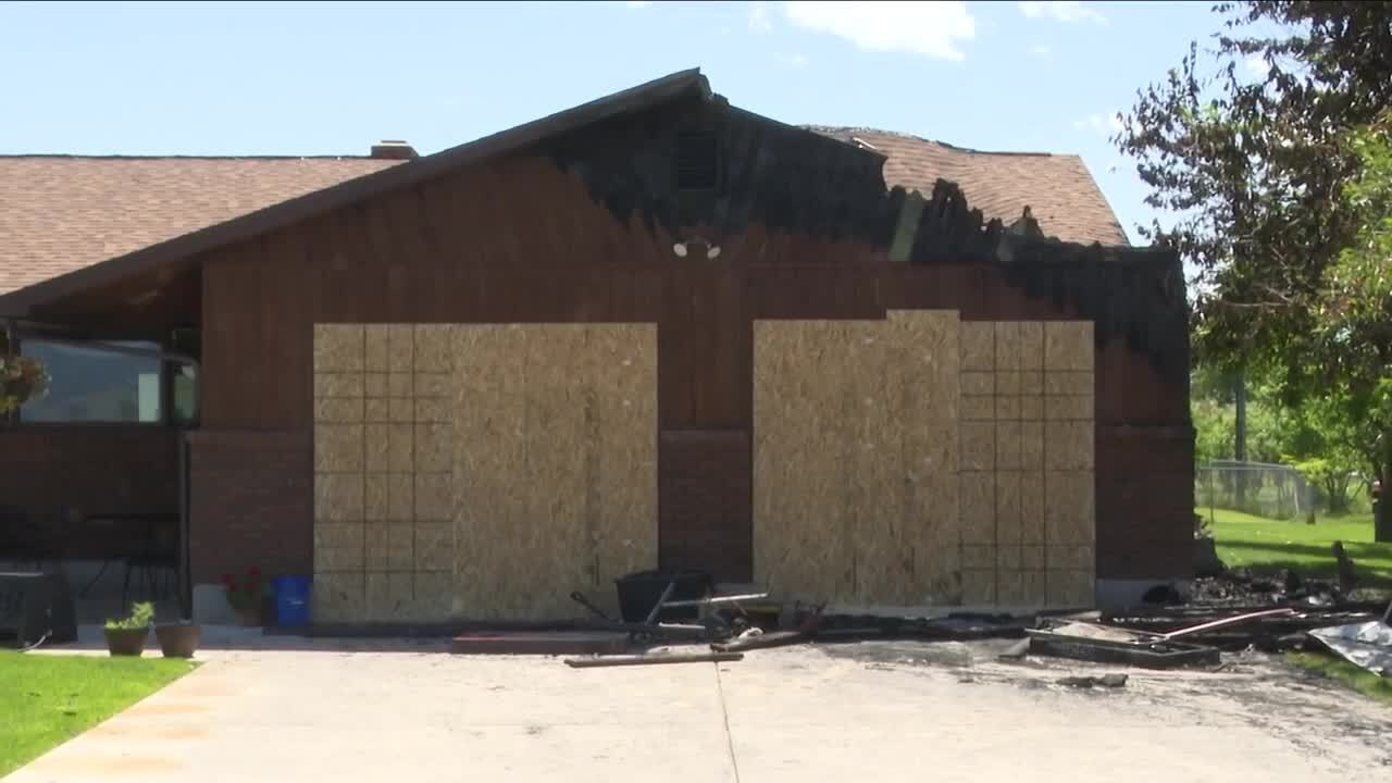 Crews douse Missoula structure fire believed to be sparked by fireworks