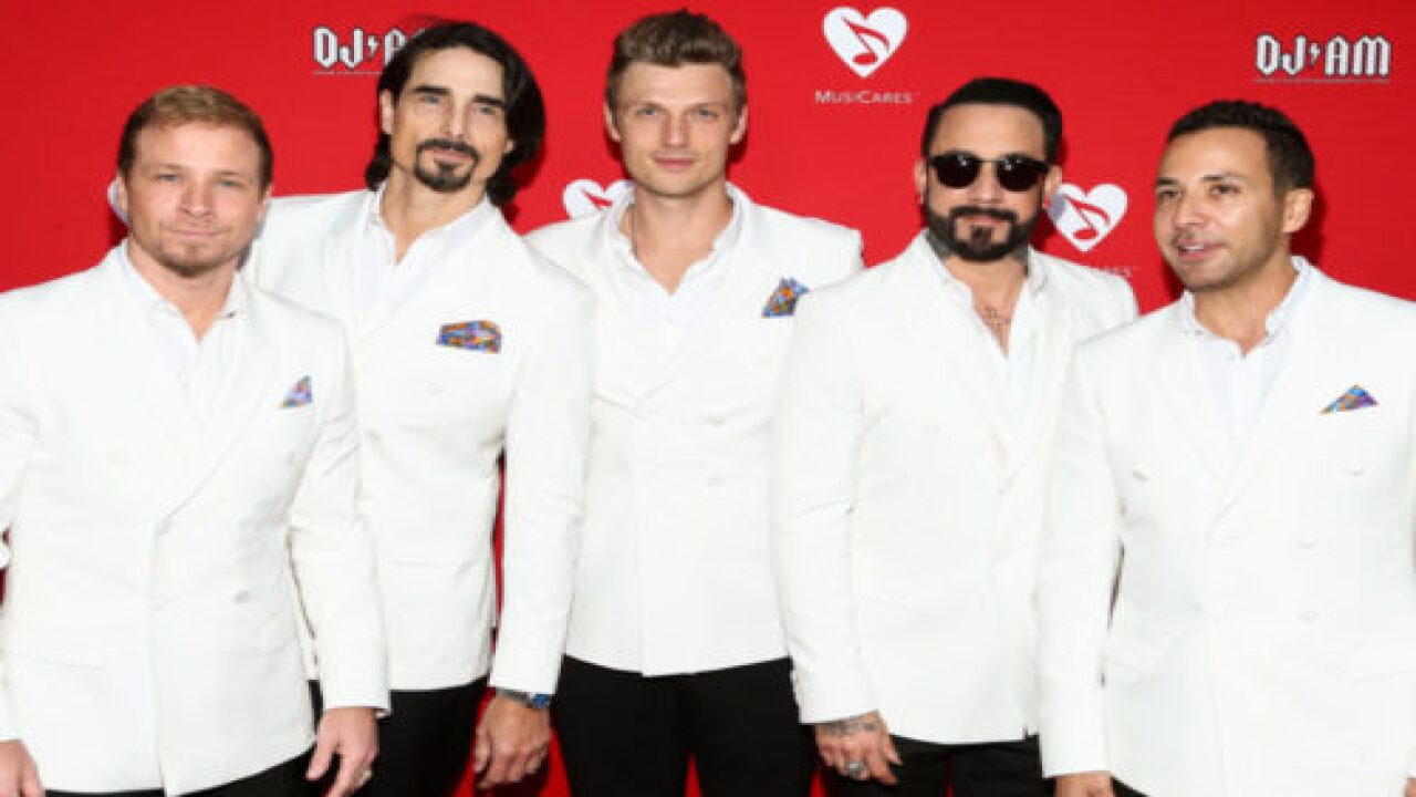 Watch The Backstreet Boys Perform 'I Want It That Way' Together From 5 Separate Locations