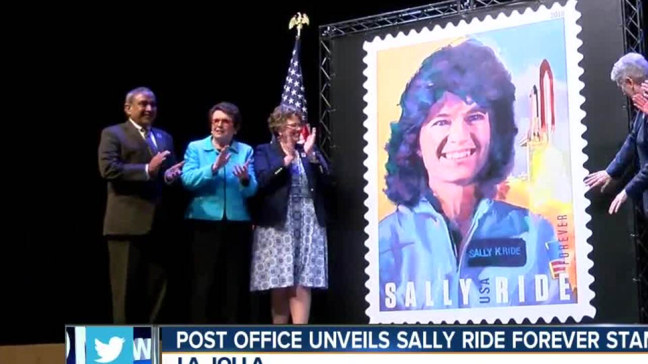 Usps Unveils New Sally Ride Forever Stamp At Uc San Diego