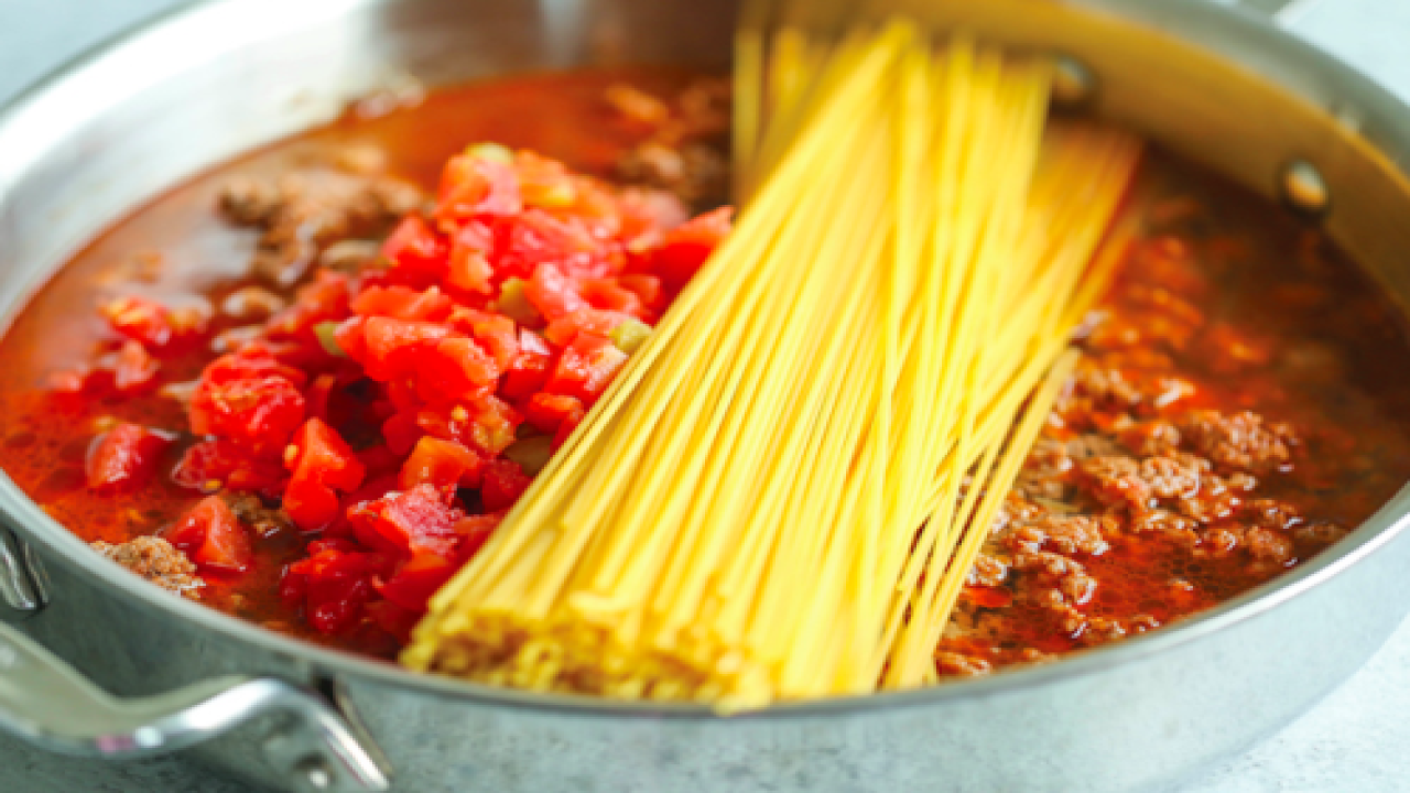 One-pot Taco Spaghetti Will Be One Of Your Family's New Favorite Dinners