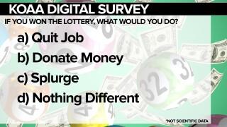KOAA Survey: Lottery