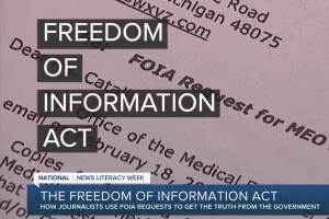 Here's what a FOIA request is and how you can file one in Michigan