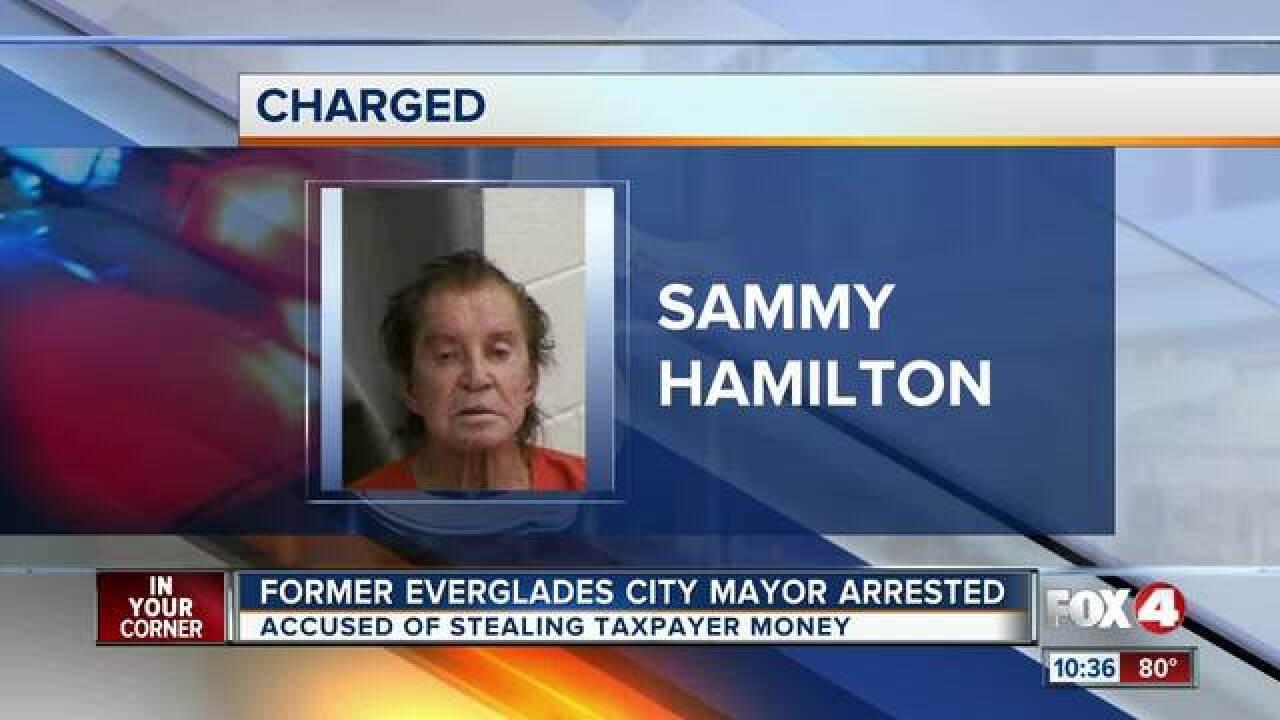 Former Mayor of Everglades City arrested