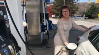 Woman Wore Her Mother-of-the-groom Dress To Get Groceries And Gas After Son's Big Wedding Was Cancelled