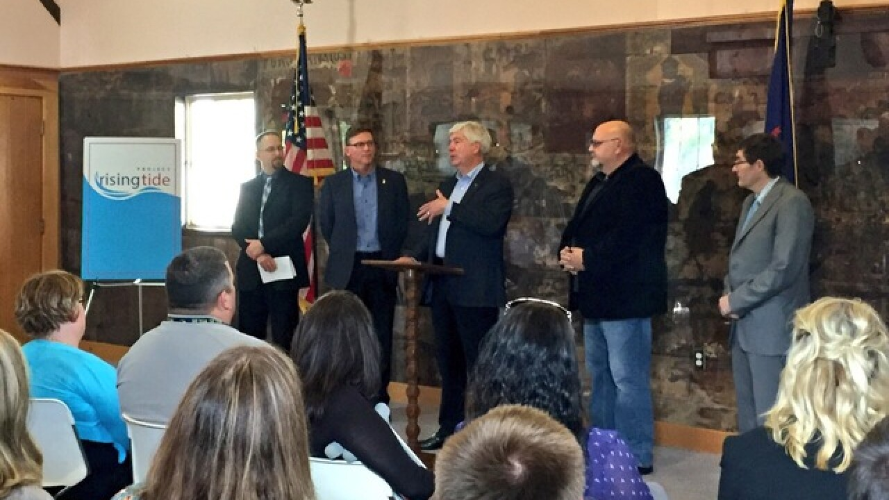 Gov Snyder:Collaboration key to strong community