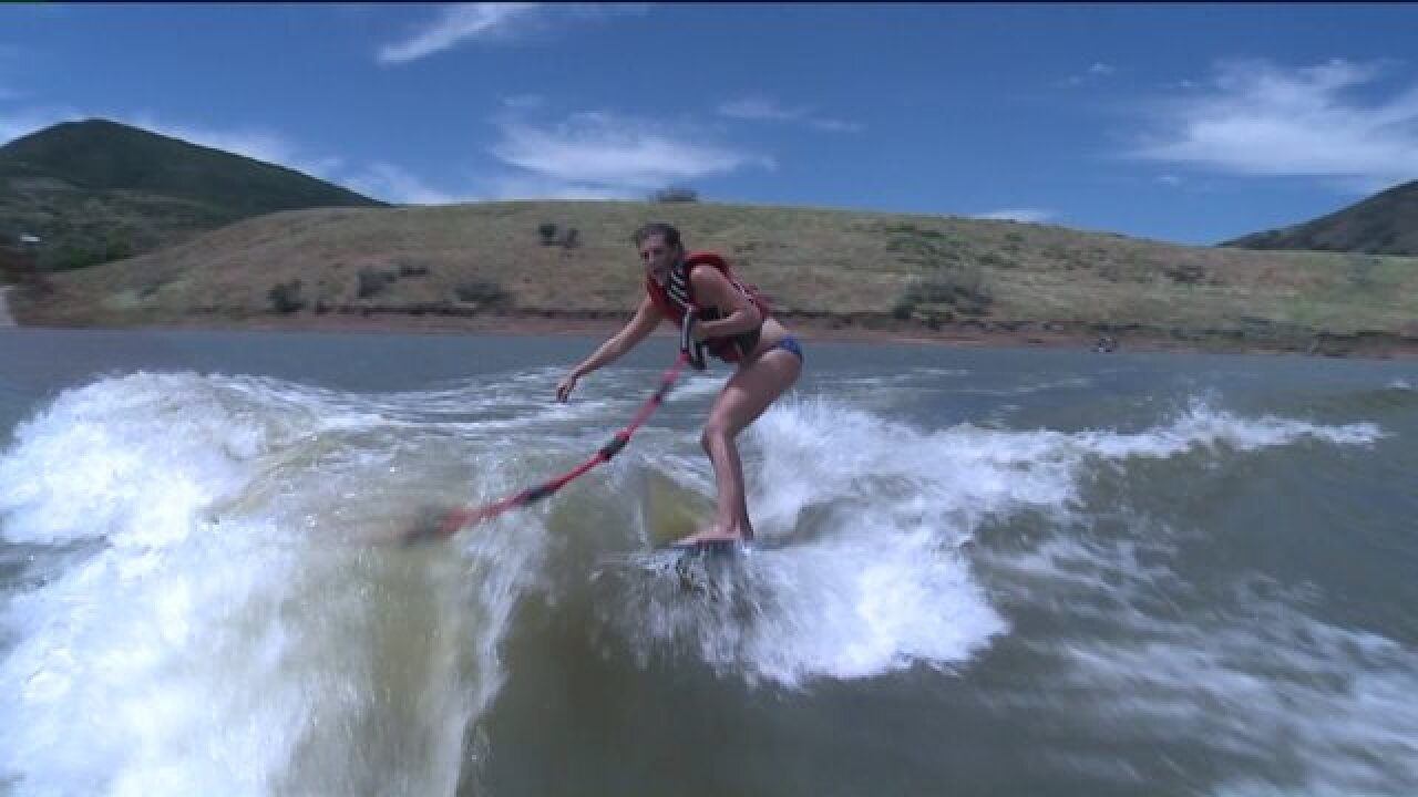 Jordanelle Reservoir hosts Wake Surf Fest