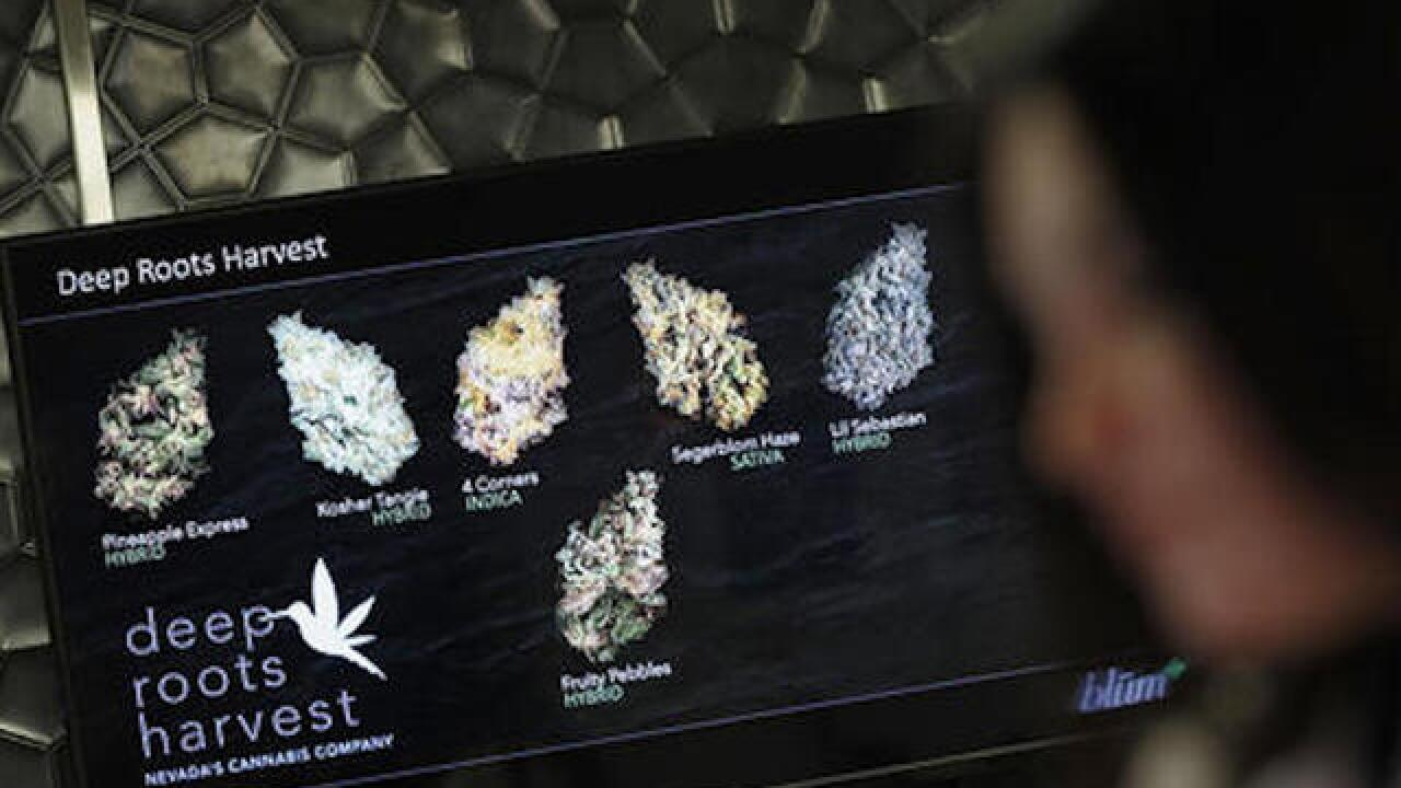 Ballot could add legal marijuana to Las Vegas' list of vices