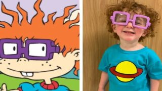 This Boy's 'Rugrats' Chuckie Finster Halloween Costume Is Going Viral