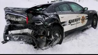 Missoula Sheriff's Sgt. recalls how he narrowly survived icy crash