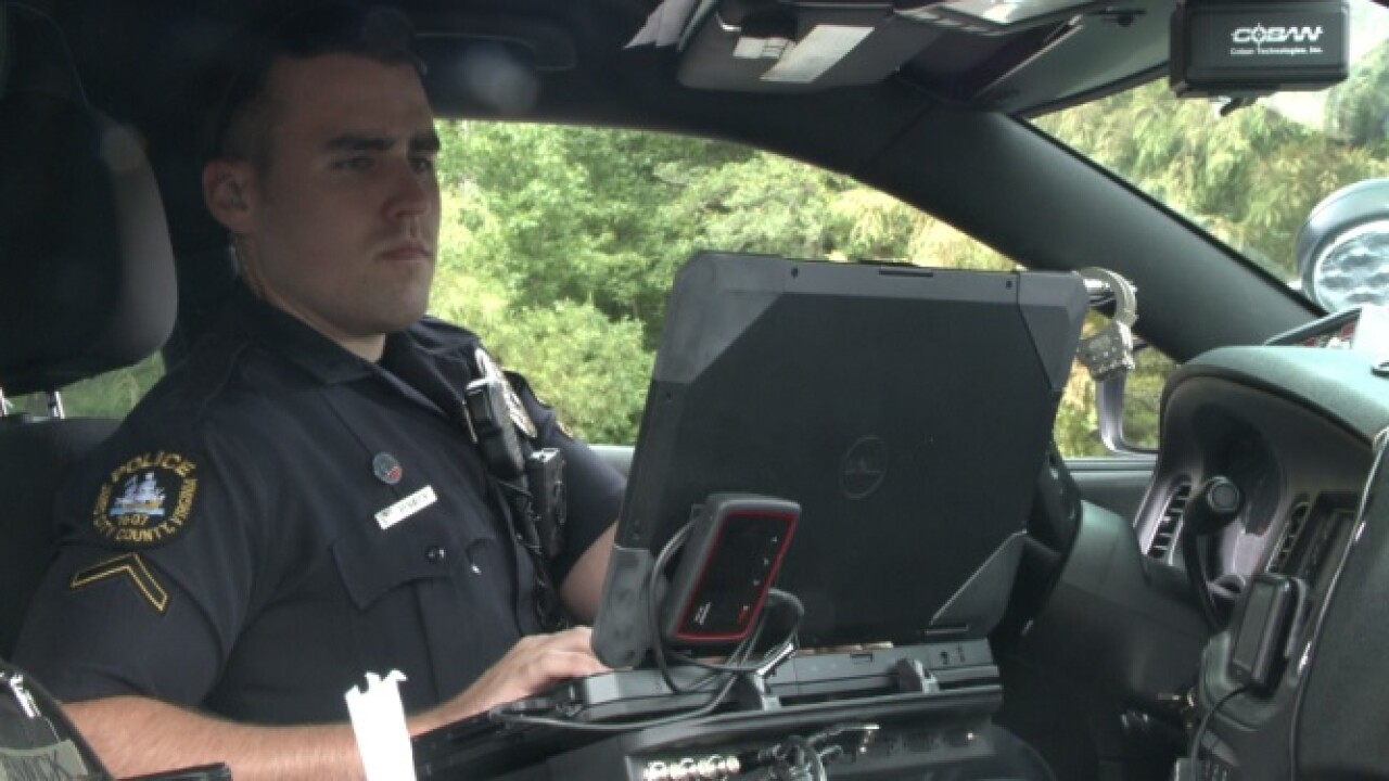 James City County police officer chosen as 'Top Cop' for going above and beyond to help others