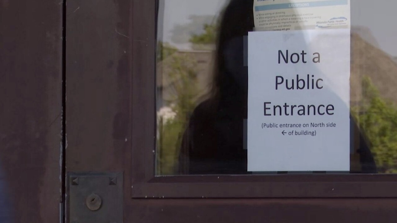 Missoula County Courthouse Door