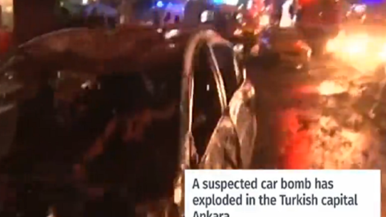 Explosion in Turkey capital kills dozens