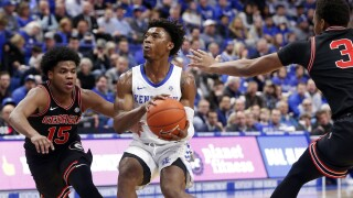 Georgia Kentucky Basketball