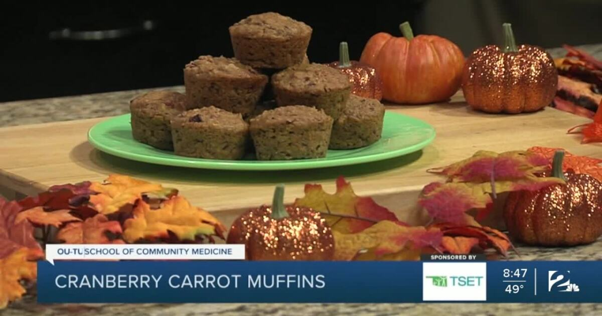 Shape Your Future Healthy Kitchen: Cranberry Carrot Muffins