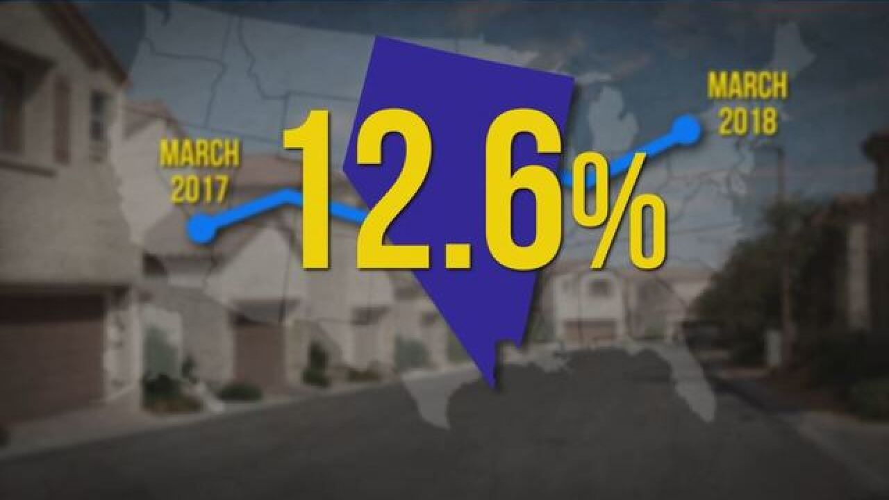 Home prices, rent continue to go up in Las Vegas