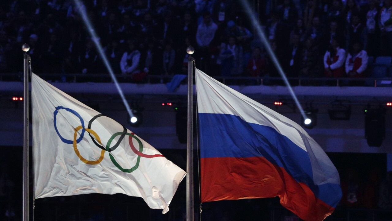 CAS Russian Doping Olympics Russia