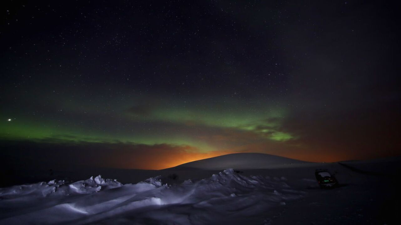 A geostorm will give residents in the Northern US a rare chance to see the aurora borealis
