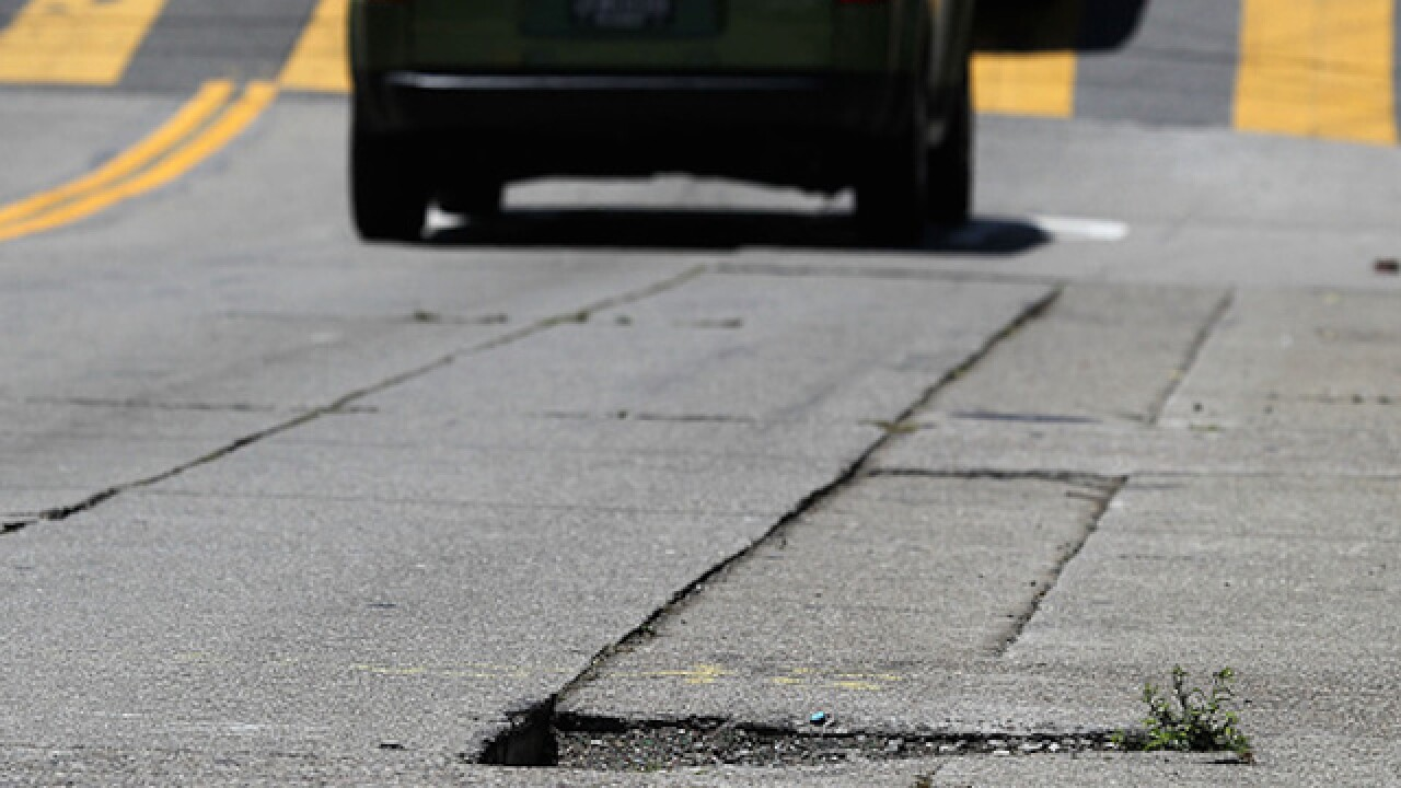 Potholes cause $3 billion in damages annually
