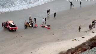 Shark attack reported in Encinitas