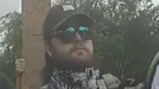 FBI offers reward of up to $12,500 for help in identifying and arresting this man who is suspected of injuring a Salt Lake Police officer during protests on May 30.