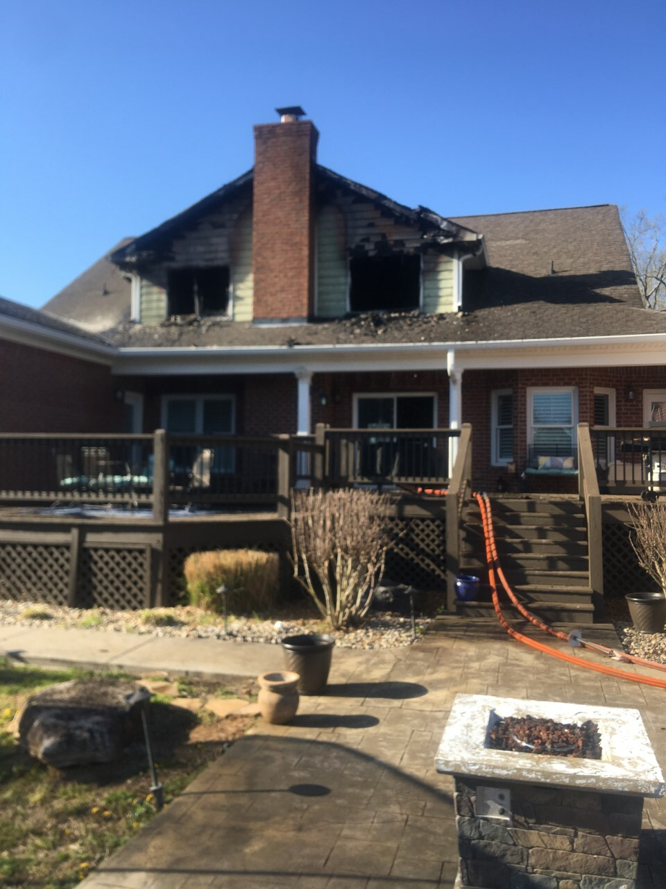 Delbridge Road House Fire - 040321