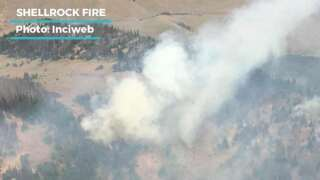 Crews transition to mop-up stage for Shellrock fire; 467 Trail fire 50 percent contained