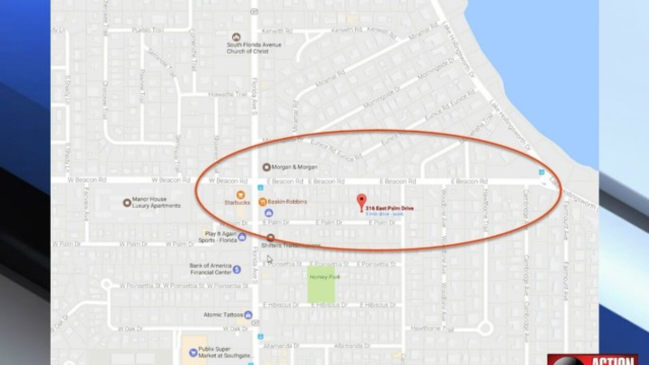Evacuations underway in Lakeland neighborhood due to gas leak