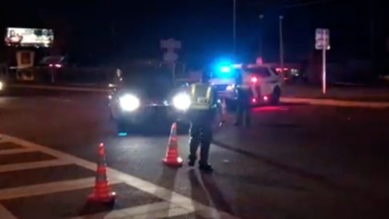 Motorcycle, pedestrian collision kills 2 on US19